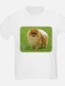 Pomeranian 8T087D-06 T-Shirt