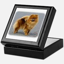 Pomeranian 9R042D-22 Keepsake Box
