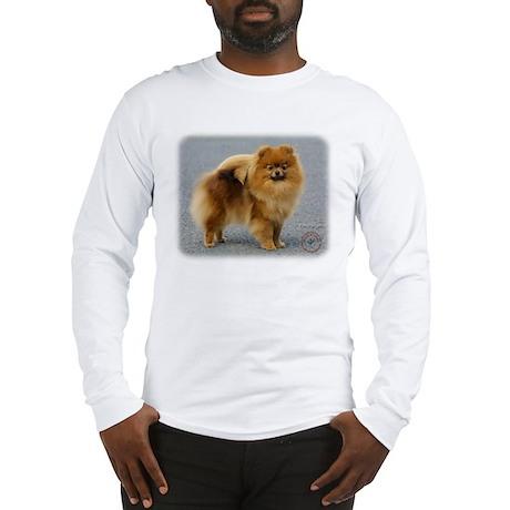 Pomeranian 9R042D-22 Long Sleeve T-Shirt