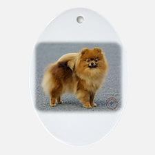 Pomeranian 9R042D-22 Ornament (Oval)