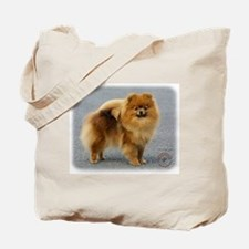 Pomeranian 9R042D-22 Tote Bag