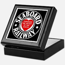 Seaboard Railway Keepsake Box