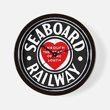 Seaboard Railway Wall Clock