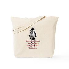 Show Jumper Tote Bag