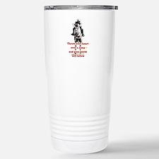 Show Jumper Stainless Steel Travel Mug