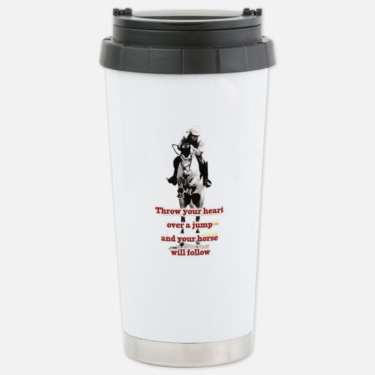Show Jumper Travel Mug