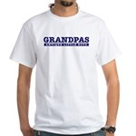 Grandpas Antique Little Boys White T-Shirt