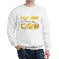 COPD Love Hope Sweatshirt