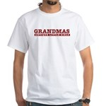 Grandmas Antique Little Girls White T-Shirt
