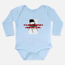 Funny Folding Long Sleeve Infant Bodysuit