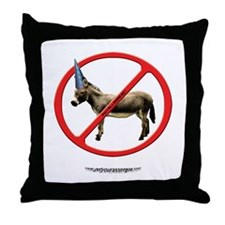 Don't Be a DumbASS! Throw Pillow