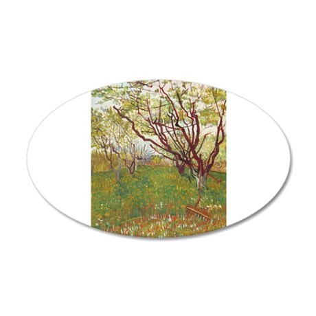 Cherry Tree 38.5 x 24.5 Oval Wall Peel