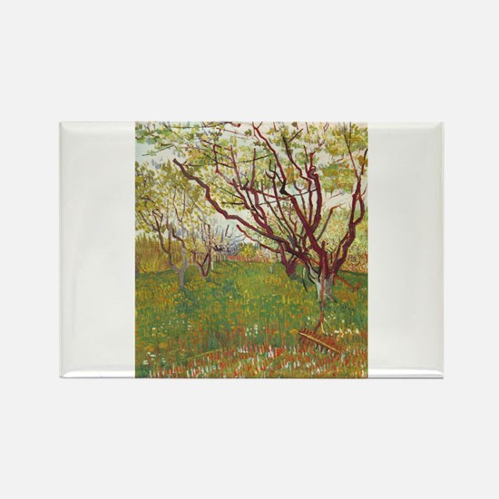 Cherry Tree Rectangle Magnet (100 pack)