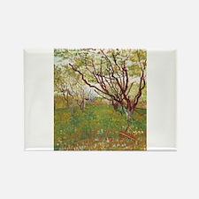 Cherry Tree Rectangle Magnet