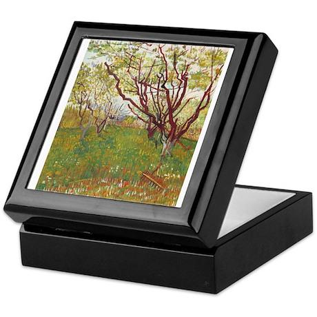 Cherry Tree Keepsake Box