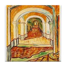 Corridor in the Asylum Tile Coaster