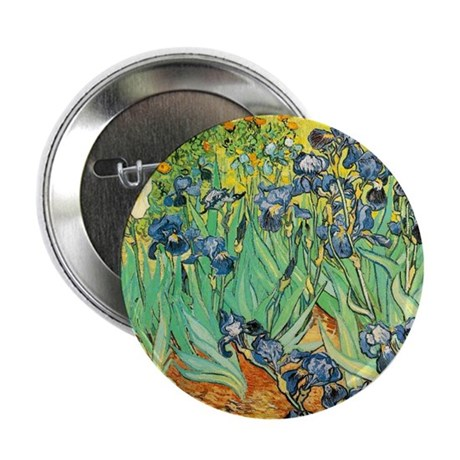 "Irises 2.25"" Button (10 pack)"