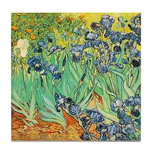 Irises Tile Coaster