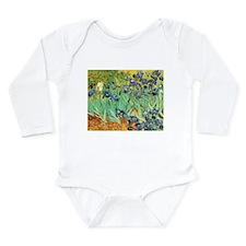 Irises Long Sleeve Infant Bodysuit