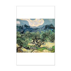 Olive Trees with the Alpilles Posters