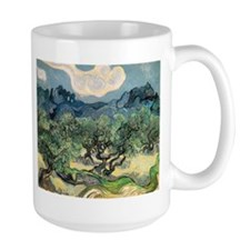Olive Trees with the Alpilles Mug