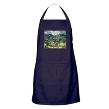 Olive Trees with the Alpilles Apron (dark)