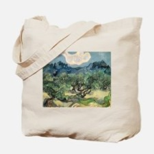 Olive Trees with the Alpilles Tote Bag