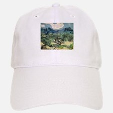 Olive Trees with the Alpilles Baseball Baseball Cap