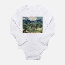 Olive Trees with the Alpilles Onesie Romper Suit