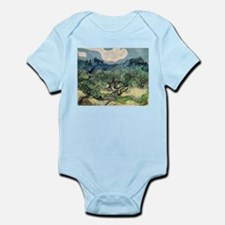 Olive Trees with the Alpilles Infant Bodysuit