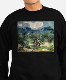 Olive Trees with the Alpilles Sweatshirt