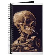 Skull with a Burning Cigarett Journal