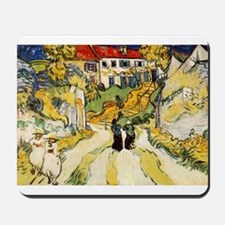 Stairway at Auvers Mousepad