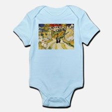 Stairway at Auvers Infant Bodysuit