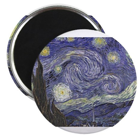 "Starry Night 2.25"" Magnet (10 pack)"
