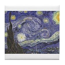 Starry Night Tile Coaster
