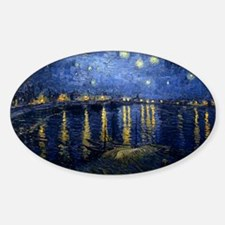 Starry Night Over the Rhone Decal