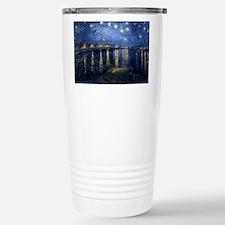 Starry Night Over the Rhone Thermos Mug