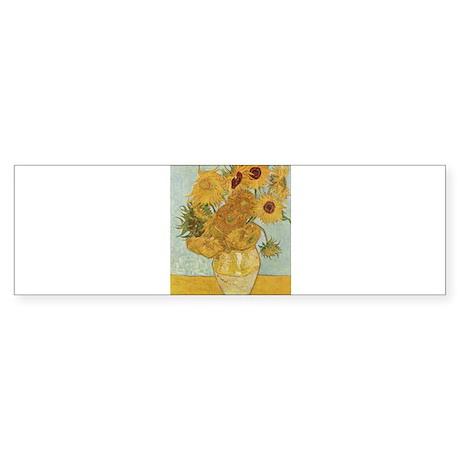 Sunflowers Sticker (Bumper)