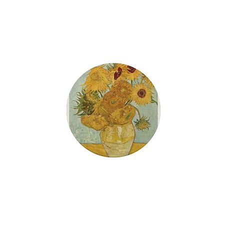 Sunflowers Mini Button (10 pack)