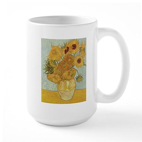Sunflowers Large Mug
