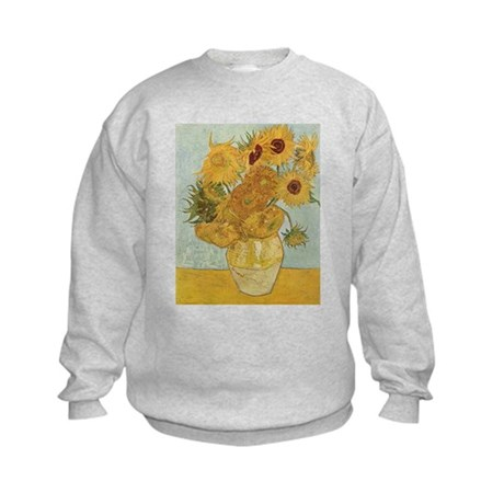 Sunflowers Kids Sweatshirt