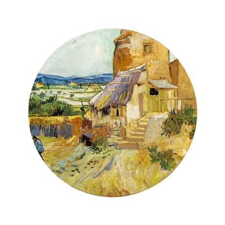 """The Old Mill 3.5"""" Button (100 pack)"""