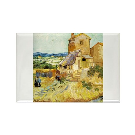 The Old Mill Rectangle Magnet (100 pack)