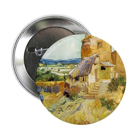 """The Old Mill 2.25"""" Button"""