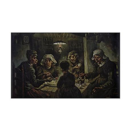 The Potato Eaters 38.5 x 24.5 Wall Peel