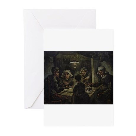 The Potato Eaters Greeting Cards (Pk of 10)