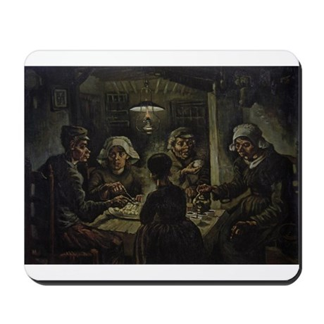 The Potato Eaters Mousepad