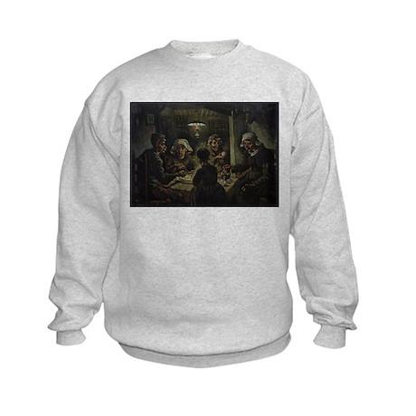 The Potato Eaters Kids Sweatshirt