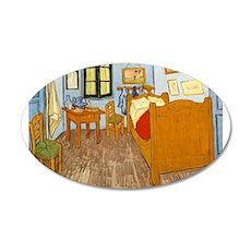 Vincents Room 22x14 Oval Wall Peel
